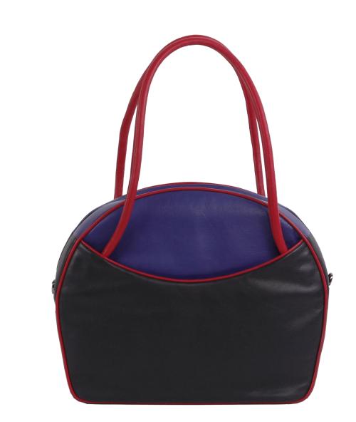 d7d6937f620 Exclusieve leren tassen Leren zakentas Russia XL zwart, paars, felrood